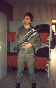 alcir joins the Foreign Legion, 1989