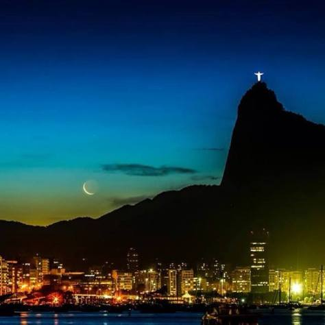 rio at night with christ