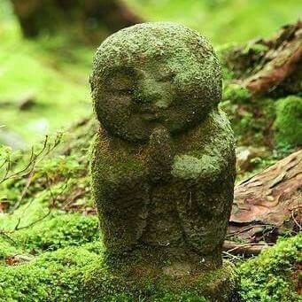 jizo in concrete